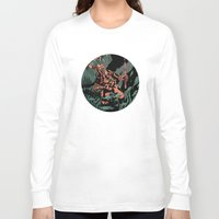 diver Long Sleeve T-shirts featuring Diver by Rafael T. Pimentel