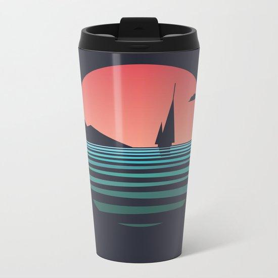 The Ocean /alternate/ Metal Travel Mug