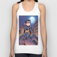 nightwing Tank Tops featuring Lil' Nightwing by J Skipper