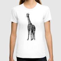 bioworkz T-shirts featuring Ornate Giraffe by BIOWORKZ