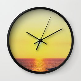 Sensual Sunset Wall Clock