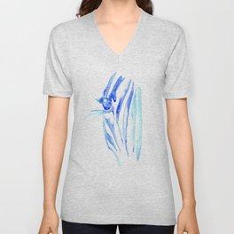 Blue Zebra Unisex V-Neck