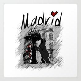 Madrid - Travel Serie Art Print