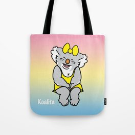 Smiling Koalita Tote Bag
