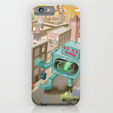 Squid vs Robot iPhone 6s Slim Case