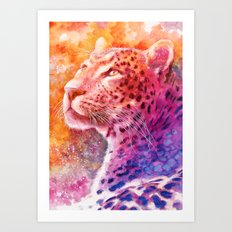 Sunset glory Art Print