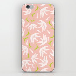 lightpinkflower iPhone Skin