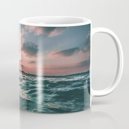 Deep Green Float Coffee Mug
