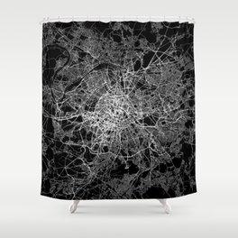 Paris map #2 Shower Curtain