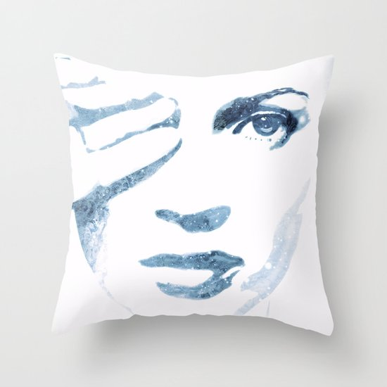 Quiet Moss Throw Pillow