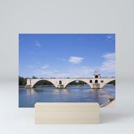 Saint-Benezet Bridge - Avignon Mini Art Print