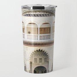 Portal to inner patio - Alcazar of Seville Travel Mug