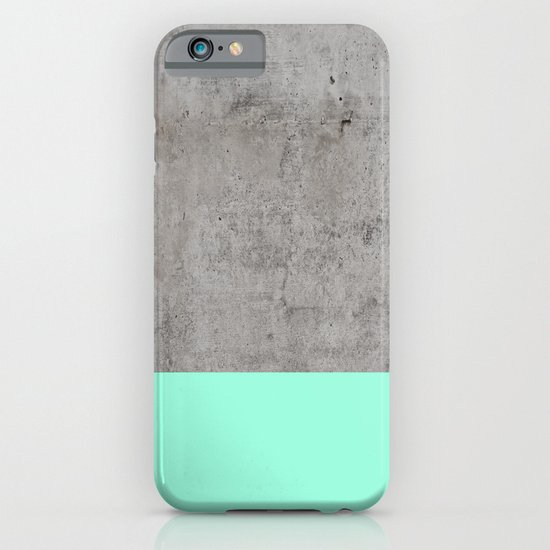 Sea On Concrete Iphone Case By Cafelab Society6
