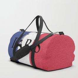 Grunge Paris Duffle Bag