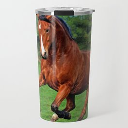 Charging horse Travel Mug