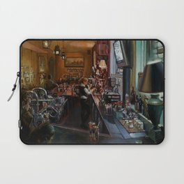 In the Wee Small Hours Laptop Sleeve