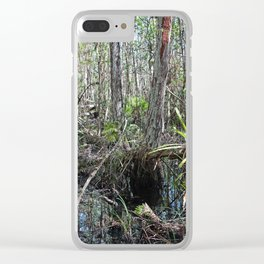 A Morning Jaunt Clear iPhone Case