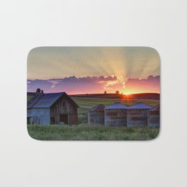 Home Town Sunset Bath Mat