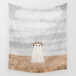 There's a Ghost in the Meadow Wall Tapestry