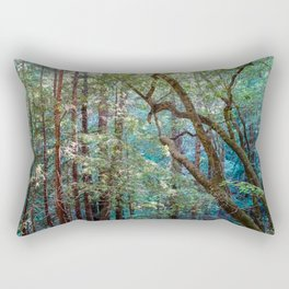 Lost in the Redwoods Rectangular Pillow