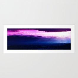 Twilight Symphony Art Print