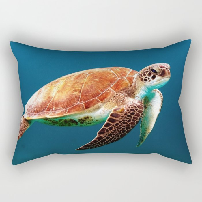 Turtley Rectangular Pillow