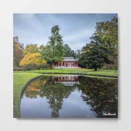 Surrounded by Autumn Metal Print