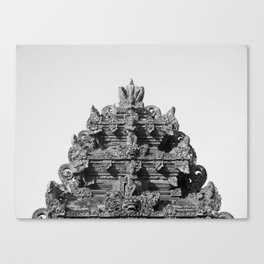 Hindu temple Bali Canvas Print