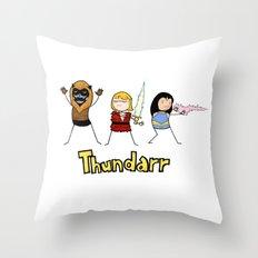 Thundarr the Barbaraian Throw Pillow