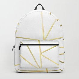 Gold Metallic Nodes Backpack