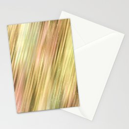 Diagonal Neutral Stripe Abstract Pattern Stationery Cards