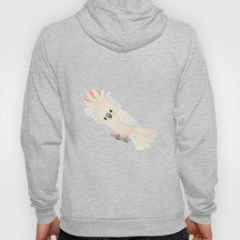 Salmon-crested cockatoo agitated Hoody