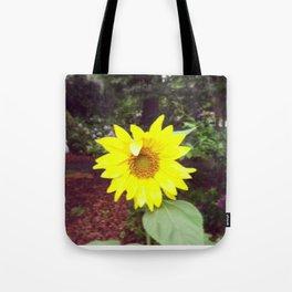 Winking Sunflower Tote Bag