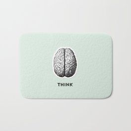 Listen Think Create Bath Mat
