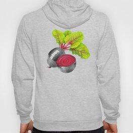let the beet drop Hoody