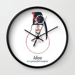 Idea Bomb (2) Wall Clock