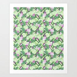 Lettuce Jungle Art Print