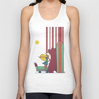 surf Tank Tops featuring SURF by Ale Giorgini