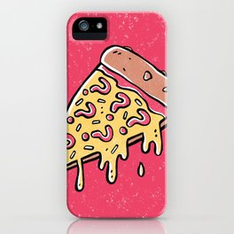 Mysterious Pizza iPhone Case