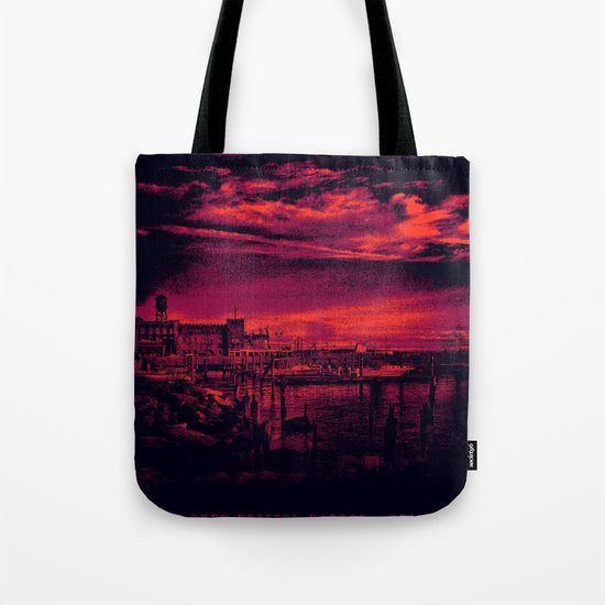 Sunset Over Bristol Harbor 3 Tote Bag