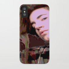 Stylized Geisha iPhone X Slim Case