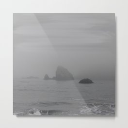 The Grey Rocks Metal Print