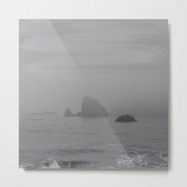 The Grey Rocks Metal Print