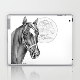 Barney the Hunter: Spirit of the Horse Laptop & iPad Skin