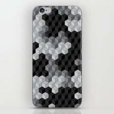 CUBOUFLAGE BLACK & WHITE iPhone & iPod Skin