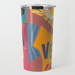 Vintage Las Vegas Poster Travel Mug
