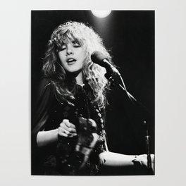 Stevie Nicks Music Poster Canvas Wall Art Home Decor, No Frame Poster