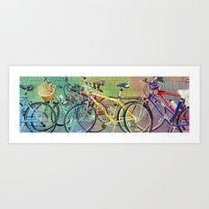 Bicycle Therapy Art Print