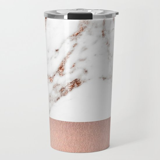 Rose gold marble and foil by marbleco