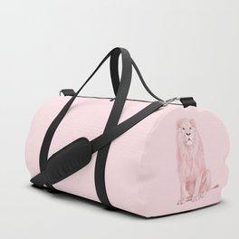 PINK LION Duffle Bag